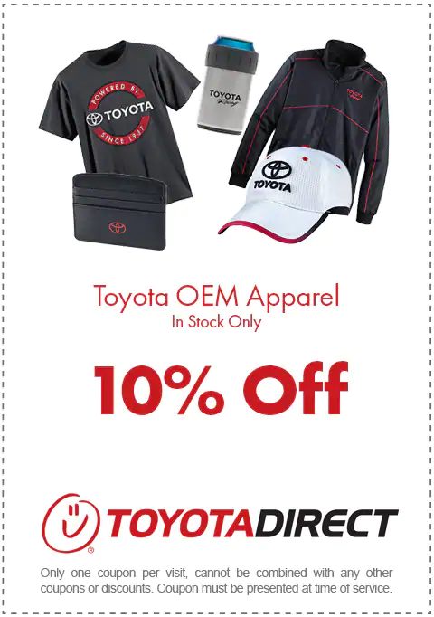 Apparel Toyota Direct Specials Columbus, OH  Toyota Direct Specials Columbus, OH